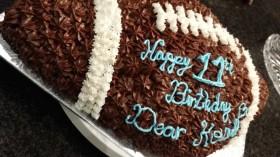 Football Chocolate Cake
