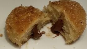 Nutella Timbits Stuffed with Nutella