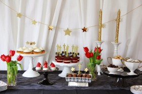 Small Dessert Table