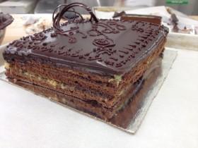 Rich Chocolate Ganache Layered Cake