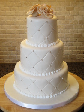 Diamond Design Cake