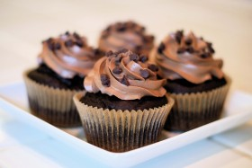 Tripple Chocolate Cupcake