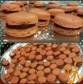 Chocolate Orange Macaroons