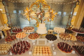 Huge 500+ Guest Dessert Table