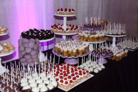 Dessert Table with No Cake