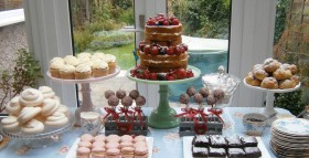 Naked Cake Dessert Table