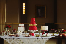 Multiple Cake Dessert Table