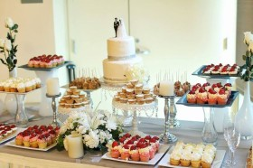 Traditional Wedding Dessert Table