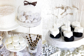 Modern Theme Dessert Table